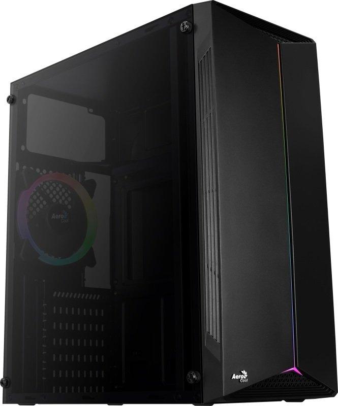 Aerocool Split RGB Windowed Mid Tower Case