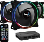 Aerocool Eclipse 12 Pro 12CM ARGB FANS x 3
