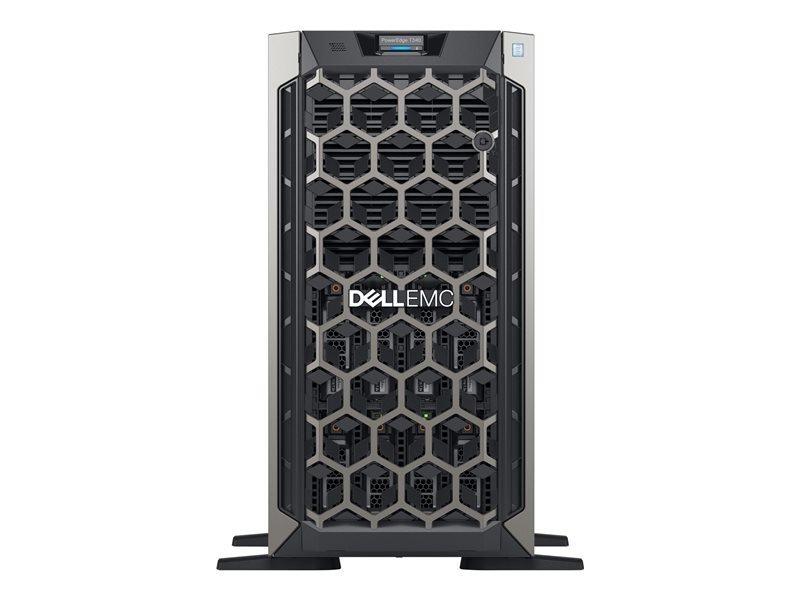 Dell EMC K/PowerEdge T340 + Win Server 2019 Datacenter Bundle- Tower - Xeon E-2224G 3.5 GHz - 16GB
