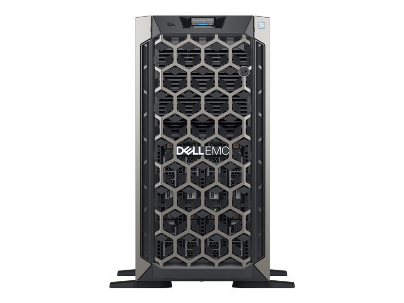 Dell EMC K/PowerEdge T340 + Win Server 2019 Standard Bundle  - Tower - Xeon E-2234 3.6 GHz - 16GB