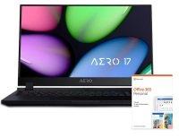 "Gigabyte AERO 17 Core i7 16GB 512GB SSD RTX 2060 17.3"" Win10 Pro Gaming Laptop"