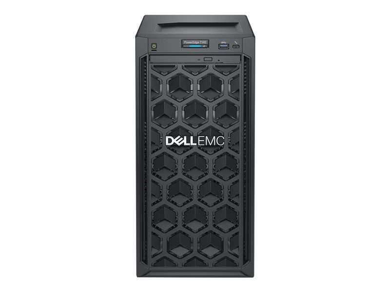 Dell EMC K/PowerEdge T140 + Win Server 2019 Essential Bundle - Mini Tower - Xeon E-2224 3.4 GHz - 8G