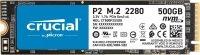Crucial P2 500GB 3D NAND NVMe PCIe M.2 SSD