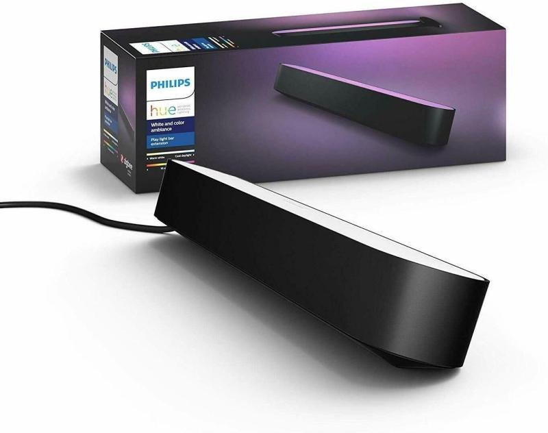Philips Hue Play Light Bar Extension Kit Black - Works with Alexa and Google Assistant*