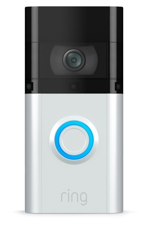 Ring Video Doorbell 3 - Wired or Wireless Smart Doorbell Camera