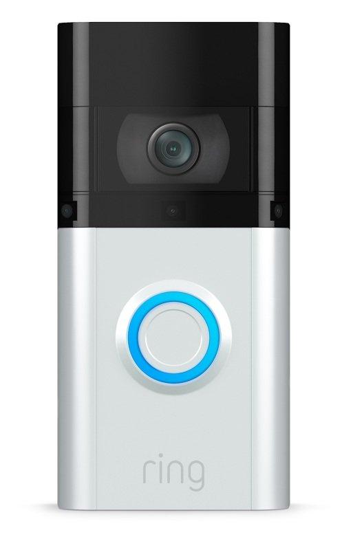 Image of Ring Video Doorbell 3 Plus - Wired or Wireless Smart Doorbell Camera