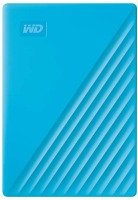 WD 2TB My Passport Portable External Hard Drive, Blue