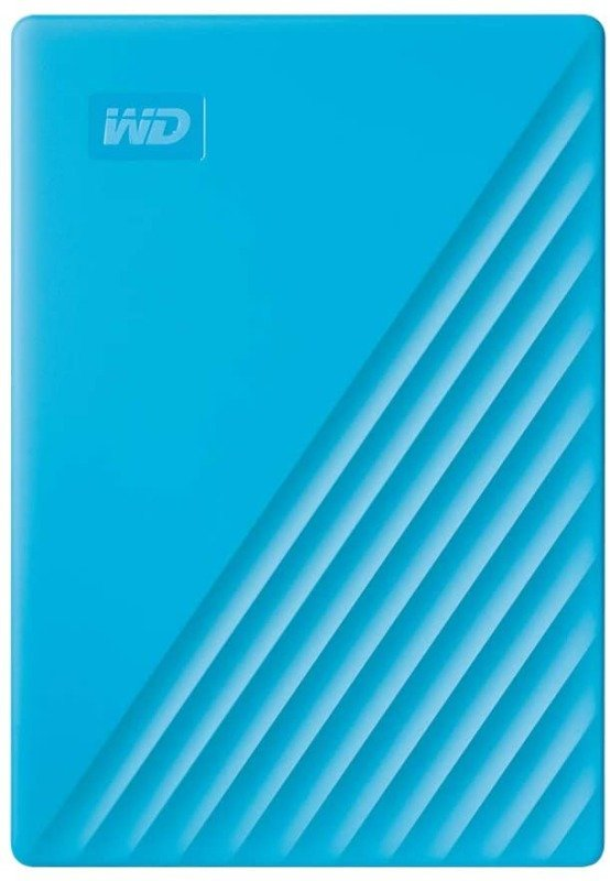 WD 4TB My Passport Portable External Hard Drive, Blue