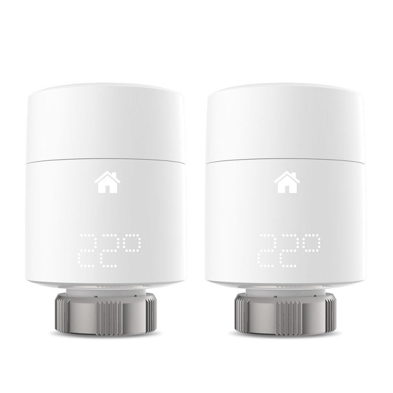 tado? additional Smart Radiator Thermostat Duo Pack (vertical mounting