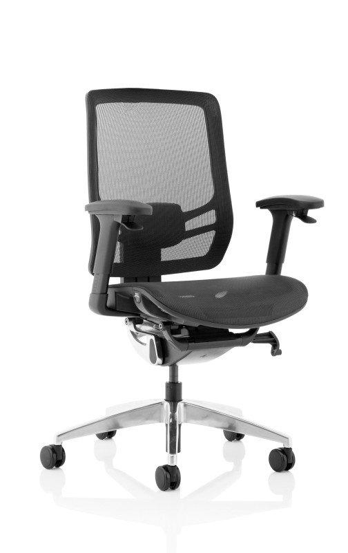 Ergo Click - Mesh Seat, Mesh Back - Black