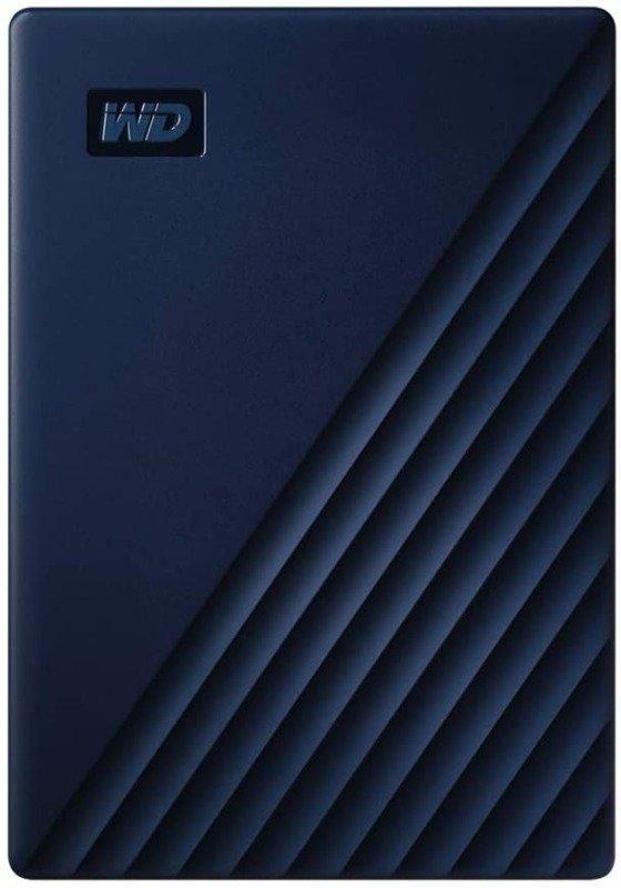 WD 5 TB My Passport for Mac Portable Hard Drive - Blue