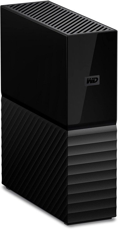WD 12 TB My Book USB 3.0 Desktop Hard Drive with Password Protection and Auto Backup Software - Black