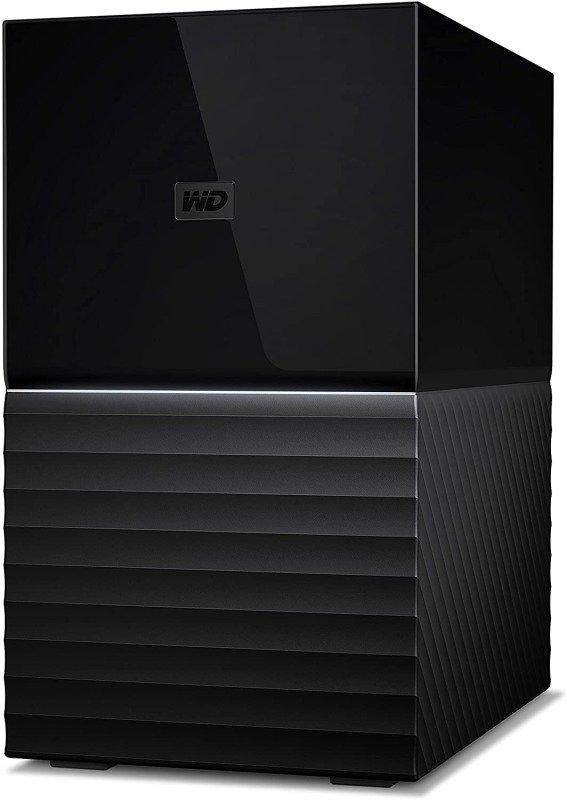 WD 12TB My Book Duo Desktop RAID USB 3.1 External Hard Drive and Auto Backup Software