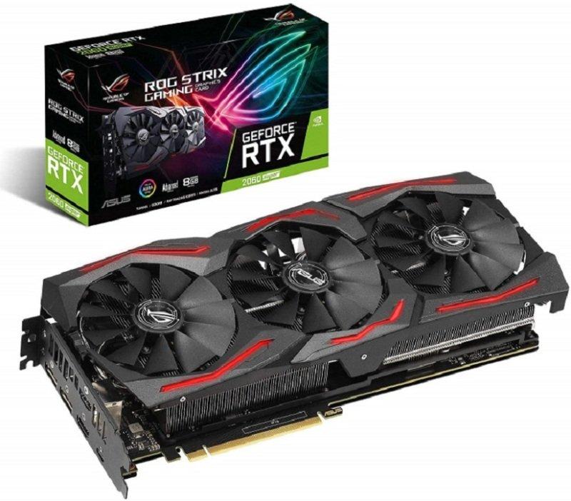 Asus GeForce RTX 2060 SUPER ROG STRIX EVO Advanced 8GB Graphics Card