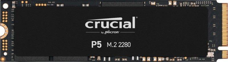 Crucial P5 500GB 3D NAND NVMe M.2 SSD