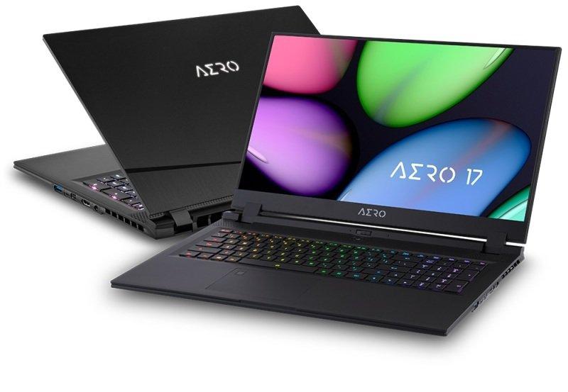 """Gigabyte AERO 17 Core i7 16GB 512GB SSD GTX 1660Ti 17.3"""" Win10 Home Creator Laptop"""
