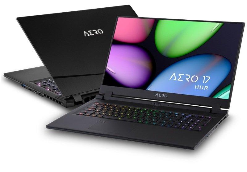 """Gigabyte AERO 17 Core i7 16GB 512GB SSD RTX 2070 MaxQ 17.3"""" Win10 Home Studio Laptop"""
