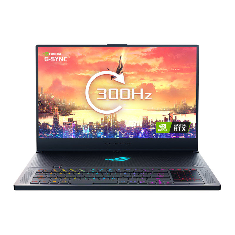 "ASUS ROG Zephyrus S17 Core i7 32GB 1TB SSD RTX 2070 17.3"" Win10 Pro Gaming Laptop"