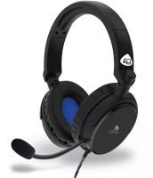 4Gamers PRO4-50S PS4, Xbox One, PC Headset - Black & Blue
