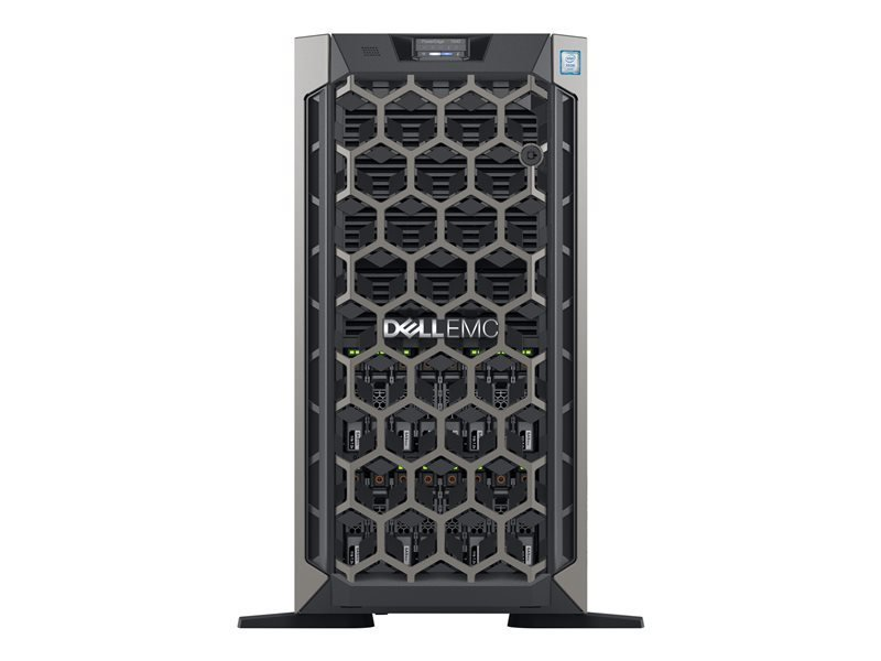 Image of Dell EMC PowerEdge T640 - Tower - 2-Way - Xeon Silver 4210 2.2 GHz - 16GB