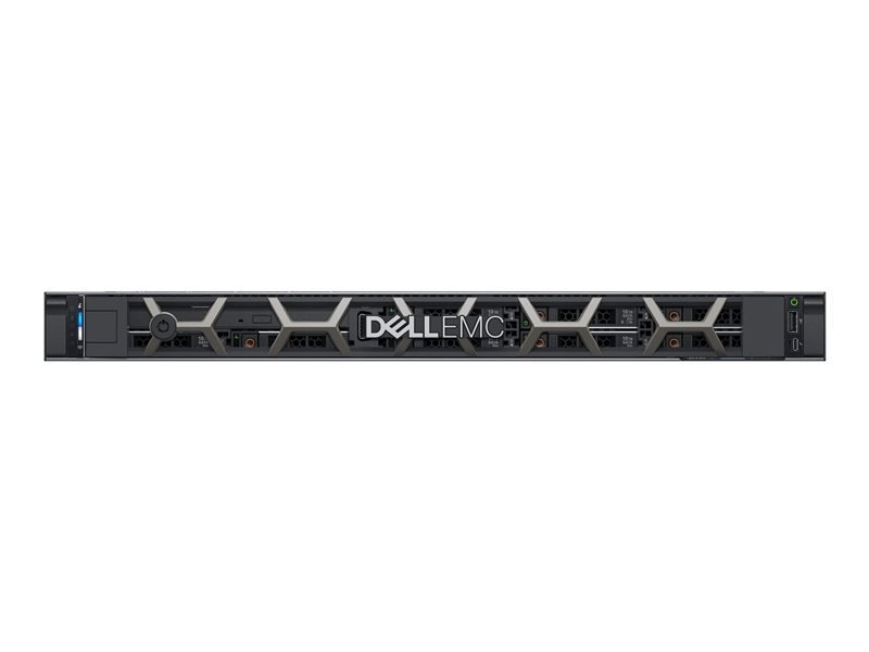 Image of Dell EMC K/PowerEdge R440 + Win Server 2019 Datacenter Bundle - Rack-mountable - 1U - Xeon Silver 4214 2.2 GHz - 16GB