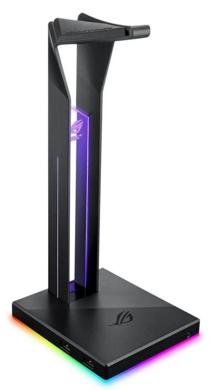 Image of ASUS ROG Throne Qi ARGB 7.1 Surround Headphone Stand