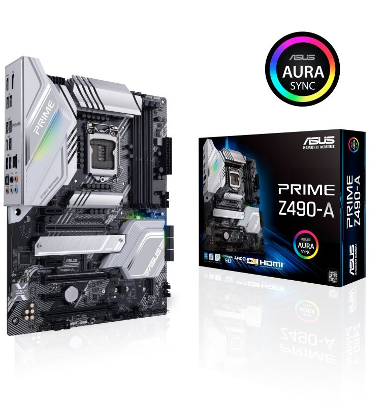 Asus PRIME Z490-A LGA 1200 DDR4 ATX Motherboard
