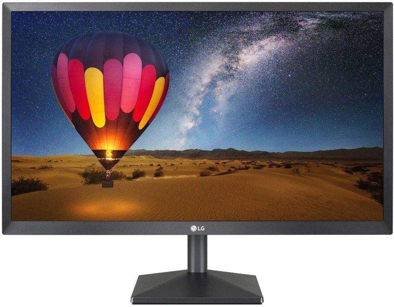 "LG 22MN430M-B 22"" FHD IPS Monitor, 5ms (GTG), HDMI, D-Sub, Radeon FreeSync, Black Stabilizer, Black"