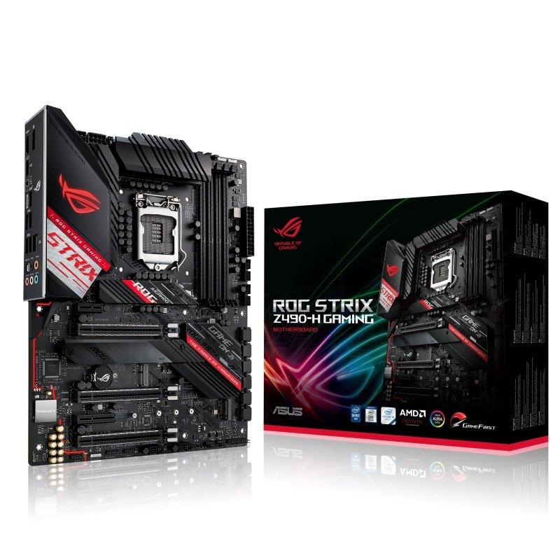 Asus ROG STRIX Z490-H GAMING DDR4 ATX Motherboard