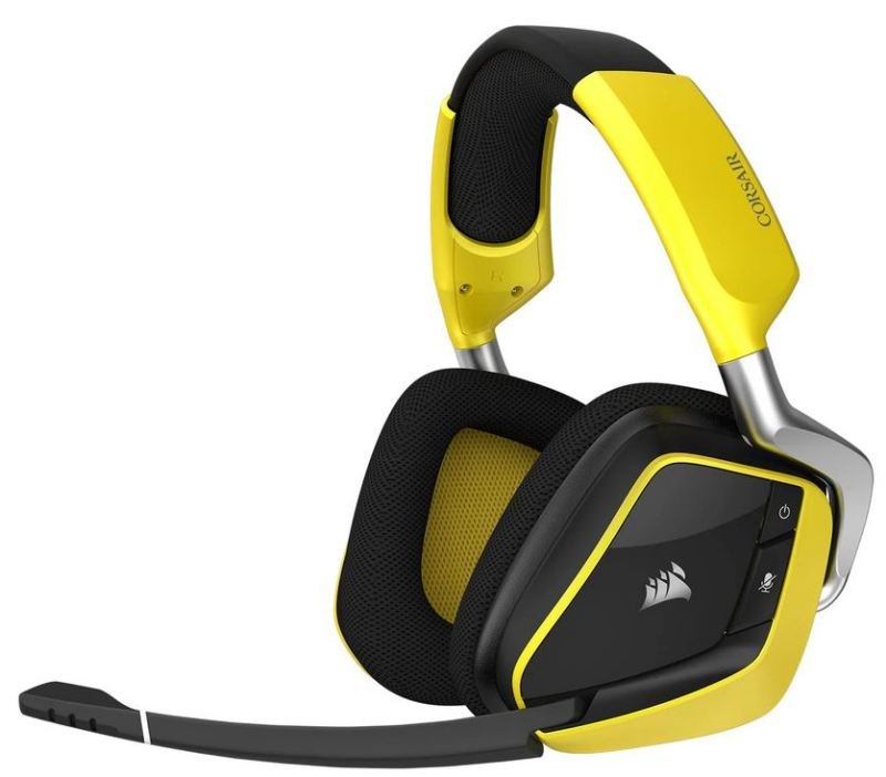 Image of Corsair VOID PRO RGB Wireless SE 7.1 PC Yellow Gaming Headset - Refurbished by Corsair