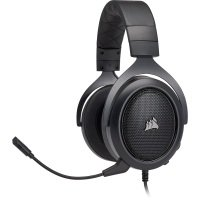 Corsair HS60 SURROUND Gaming Headset Carbon - Refurbished by Corsair