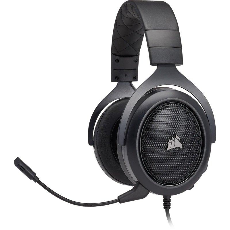 Corsair HS60 SURROUND Gaming Headset Carbon - Refurbished by Corsair
