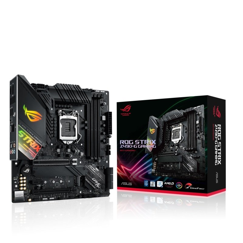 Click to view product details and reviews for Asus Rog Strix Z490 G Gaming Ddr4 Matx Motherboard.