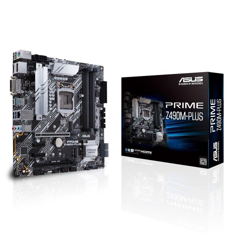Asus PRIME Z490M-PLUS DDR4 mATX Motherboard