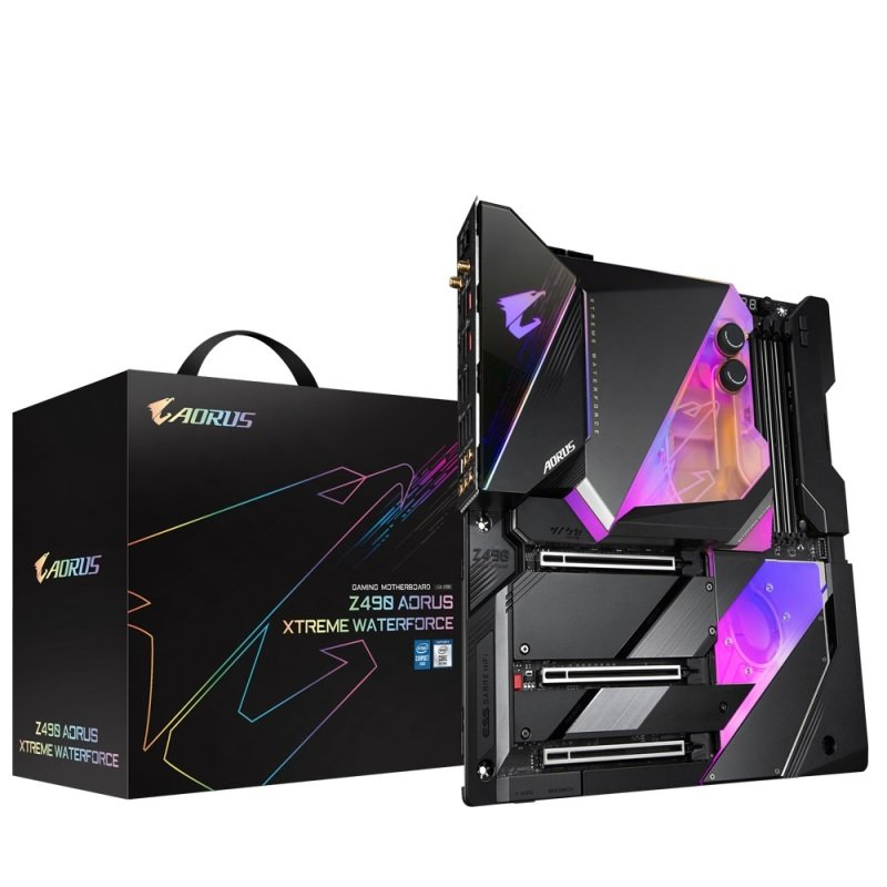 Gigabyte Z490 AORUS XTREME WATER FORCE EATX Motherboard