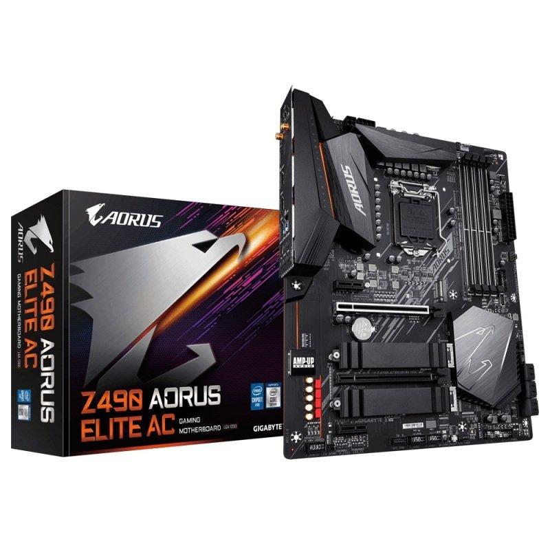 Gigabyte Z490 AORUS ELITE AC DDR4 ATX Motherboard