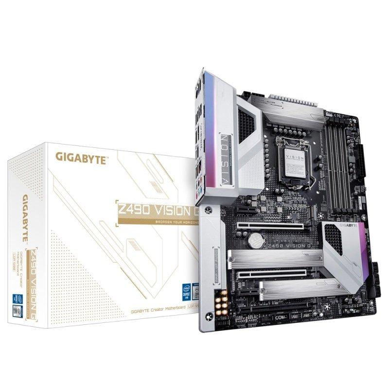 Gigabyte Z490 VISION G DDR4 ATX Motherboard