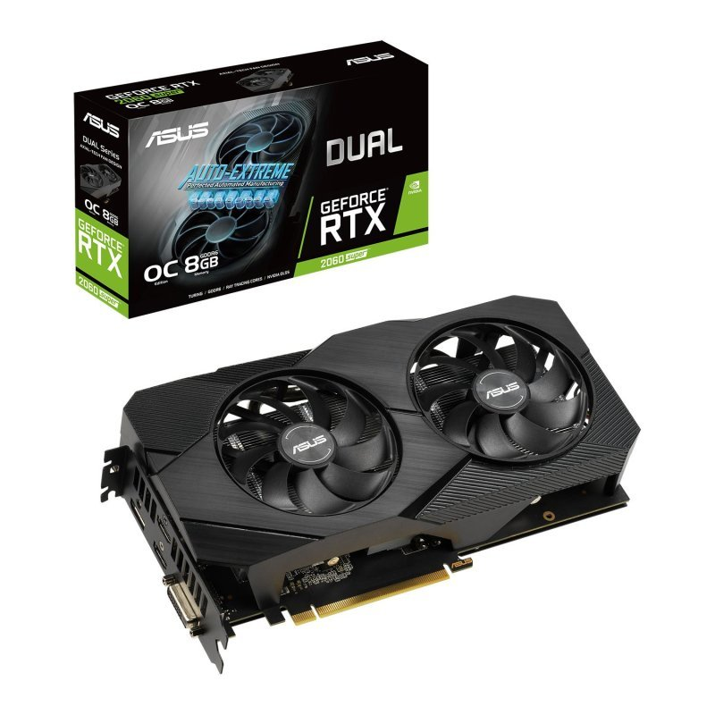 ASUS GeForce RTX 2060 SUPER 8GB DUAL EVO V2 OC Graphics Card