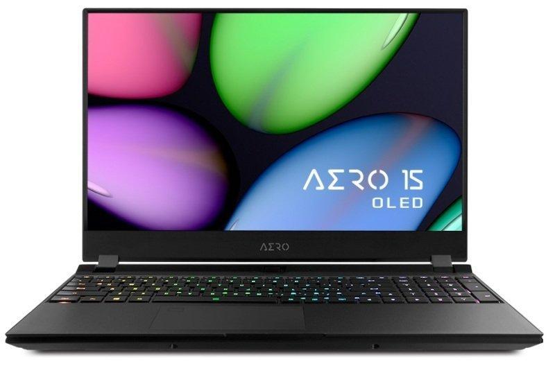 "Gigabyte Aero Core i7 16GB 1TB SSD RTX 2070MAXQ 15.6"" OLED Win10 Pro Gaming Laptop"