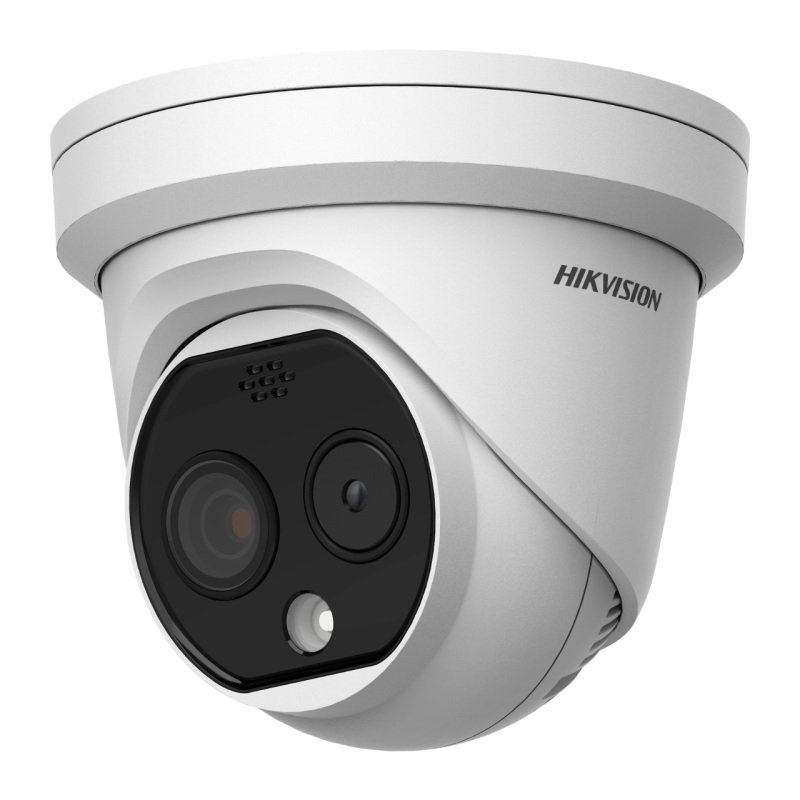 Hikvision DS-2TD1217B-6/PA(B)(C) Temperature Screening Thermographic Turret Camera