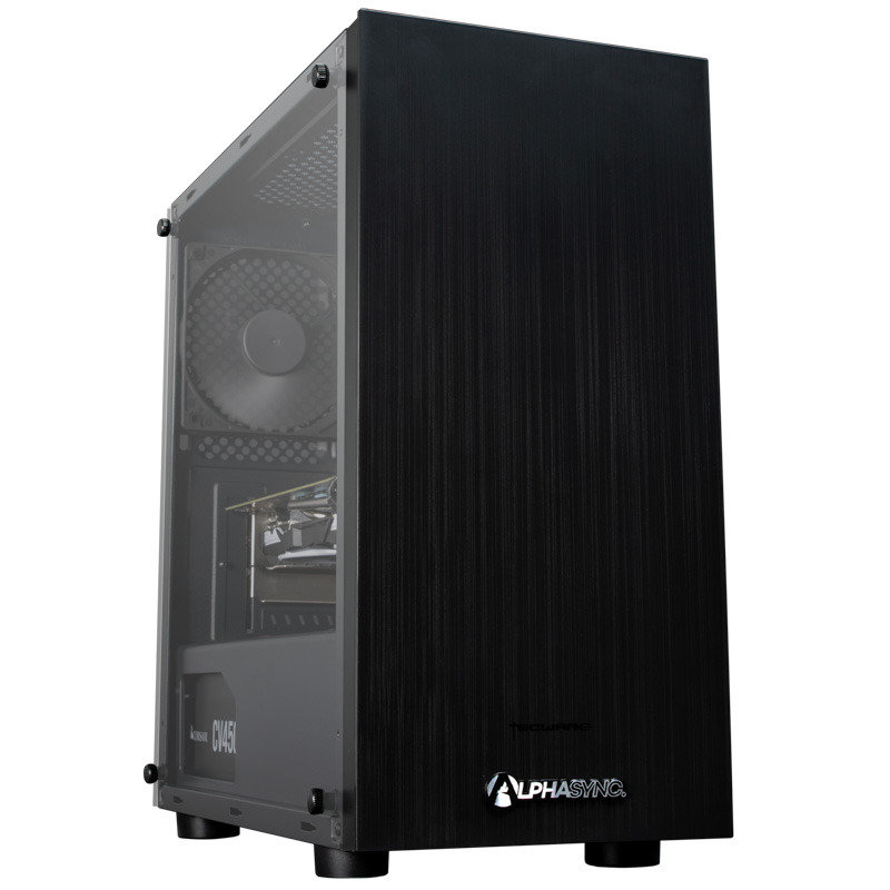 AlphaSync Ryzen 5 8GB RAM 1TB HDD 240GB SSD Radeon 580 Gaming Desktop PC