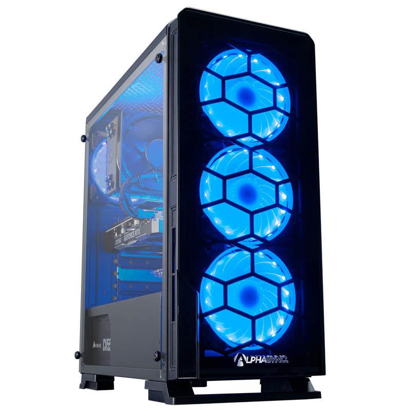 AlphaSync Core i7 16GB RAM 2TB HDD 480GB SSD RTX 2060 Super Gaming Desktop PC