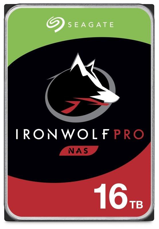 "Seagate IronWolf Pro 16TB NAS Hard Drive 3.5"" 7200RPM 256MB Cache"