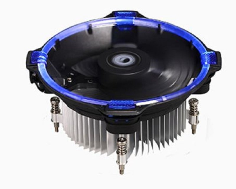 DK-03 HALO INTEL BLUE CPU COOLER for LGA115X