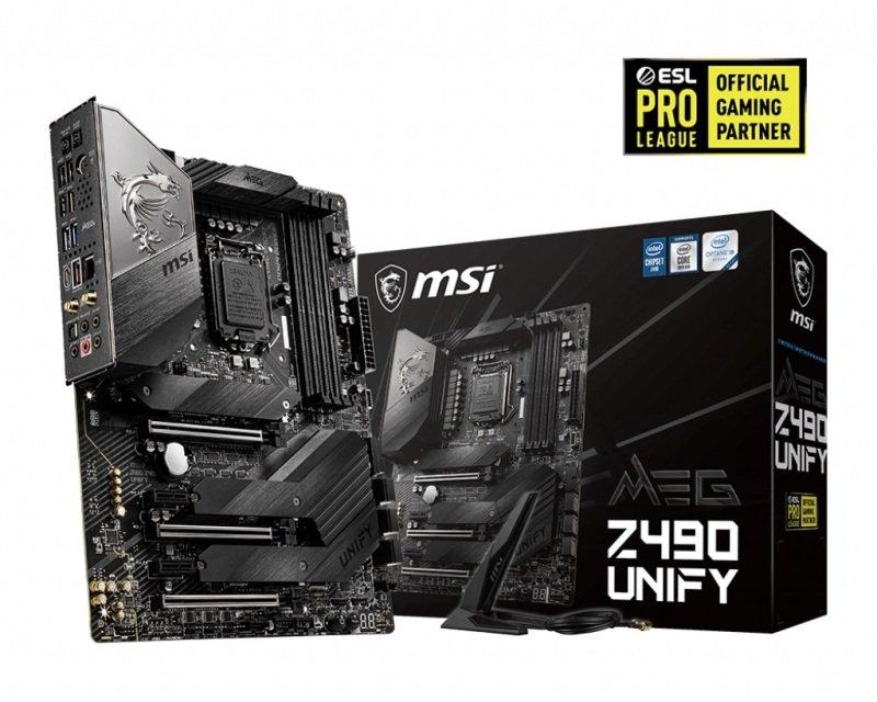 MSI MEG Z490 UNIFY ATX  Motherboard