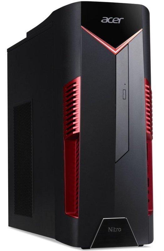 EXDISPLAY Acer Nitro N50-600 Gaming PC Intel Core I7-8700 3.2GHz 16GB RAM 1TB HDD 256GB SSD DVDRW NVIDIA RTX 2060 WIFI Windows 10 Home