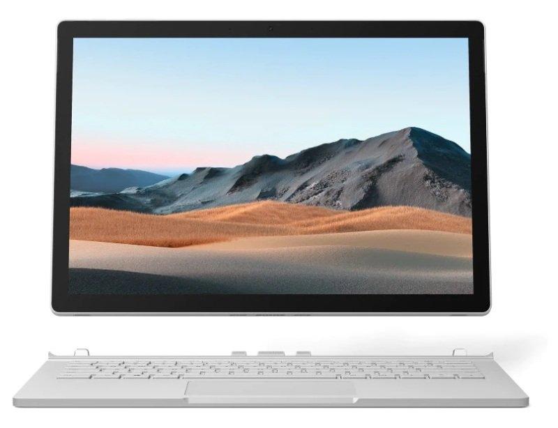 "Image of Microsoft Surface Book 3 Core i5 8GB 256GB SSD 13.5"" Windows 10 Pro - Platinum"