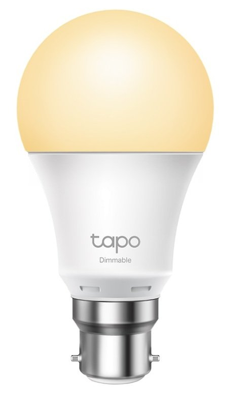 TP-Link Tapo L510B Smart Wi-Fi B22 Light Bulb - Works with Alexa and Google Assistant