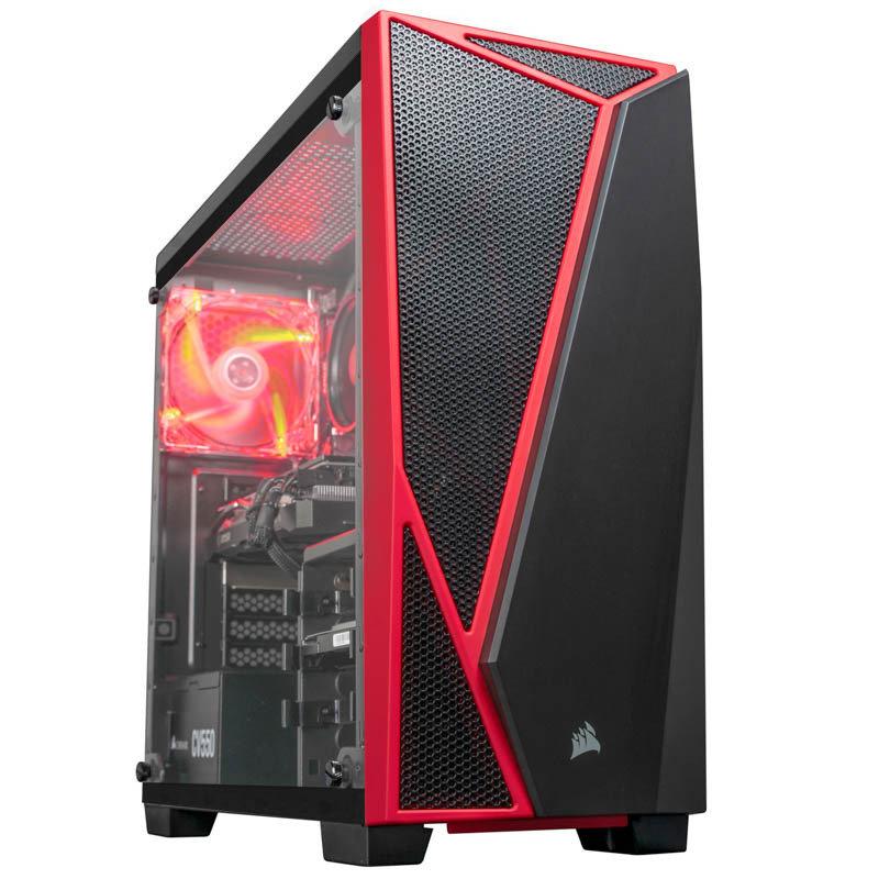 AlphaSync Ryzen 5 3600 16GB RAM 1TB HDD 240GB SSD RX 5700 XT No OS Gaming Desktop PC