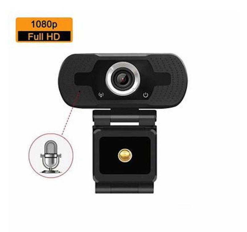 FREDI 1080P Full HD Webcam - Teams, Skype & Zoom Compatible